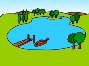 Cilpart charming idea clip. Clipart lake