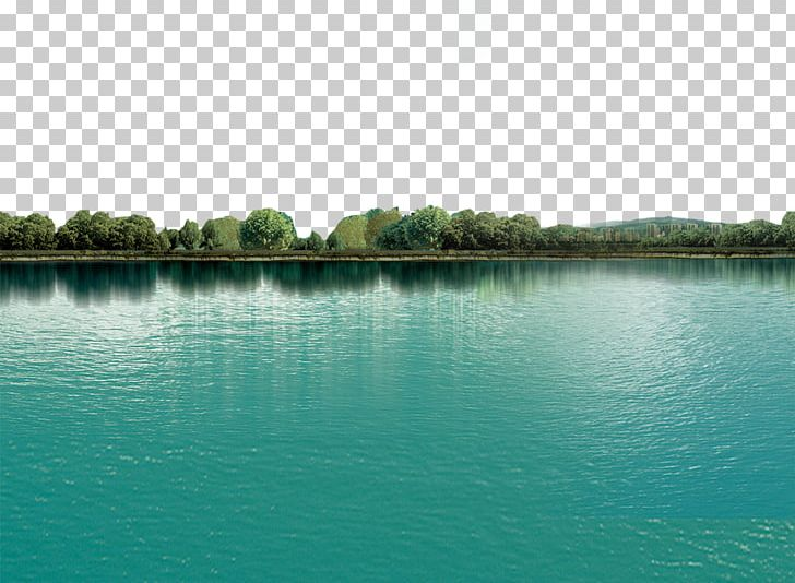 Lake clipart water reflection. Beautiful png bank