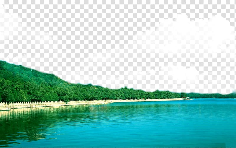 Lake clipart blue lake. Sky transparent background png