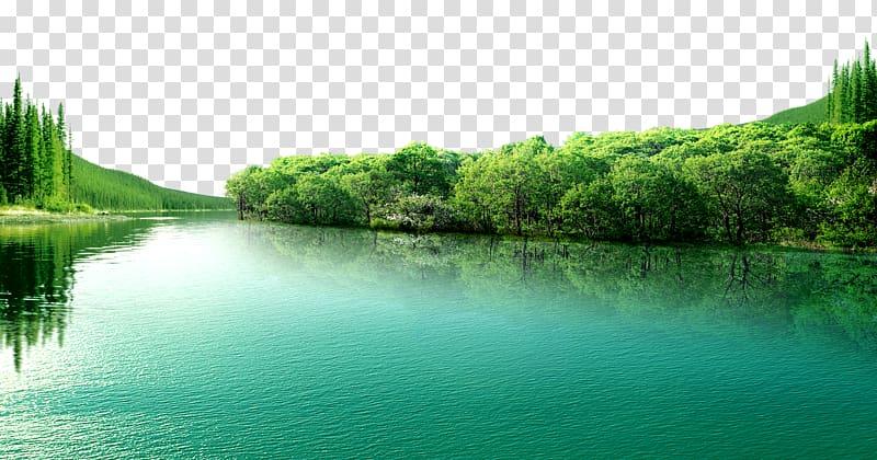 And tall trees blue. Lake clipart beautiful lake