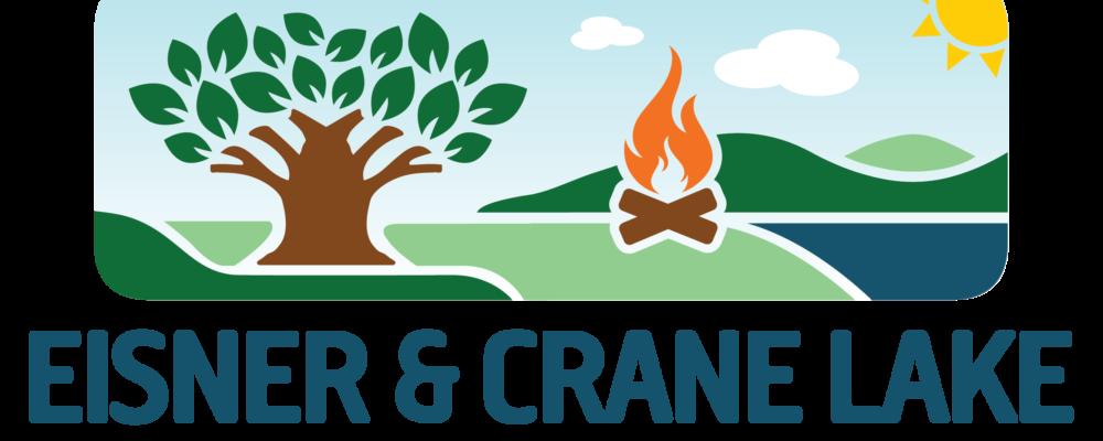 Lake clipart camp lake. New logo for eisner