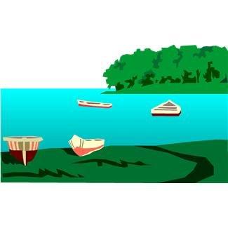 Clip art free images. Lake clipart lake picnic