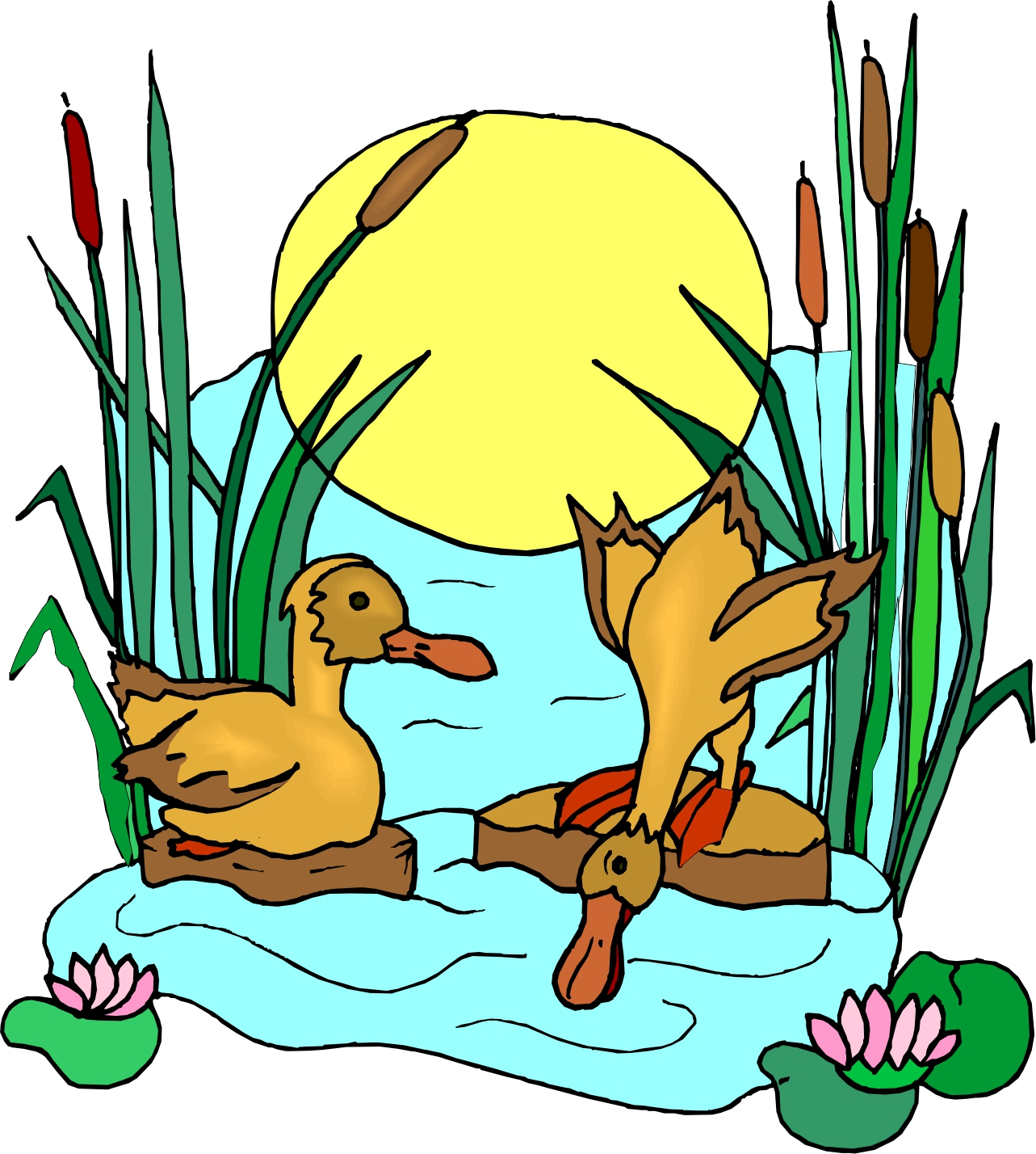Lake clipart water source. Free download best on