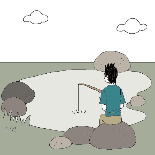 Fish dream dictionary interpret. Lake clipart empty pond