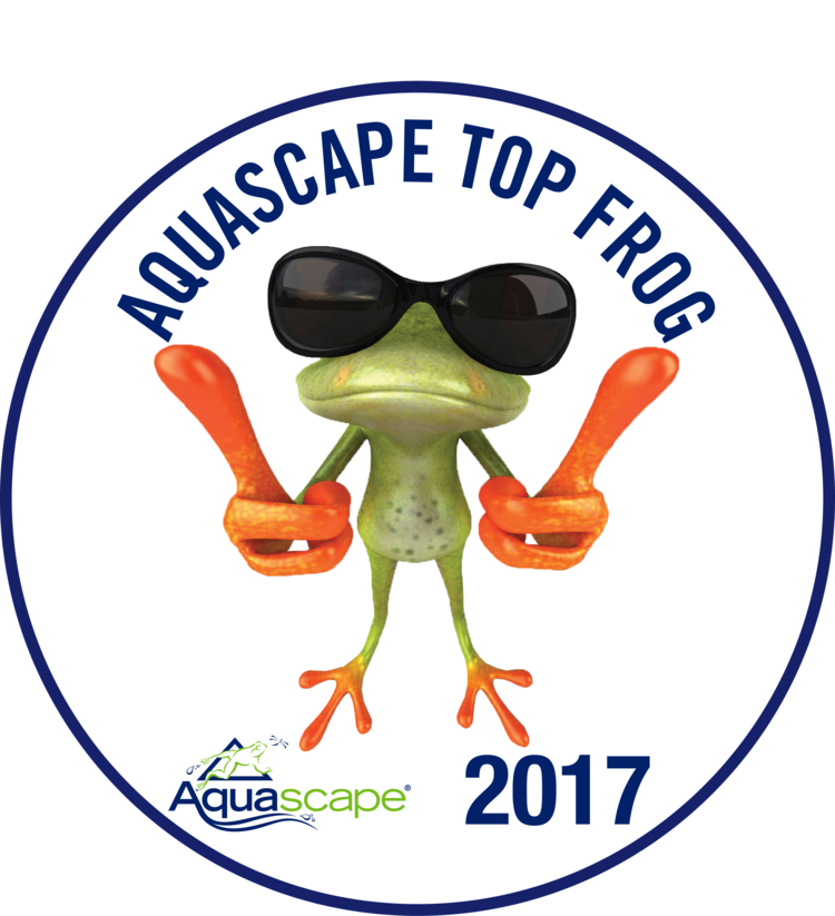 Aquascape certified waterpaw a. Lake clipart frog pond