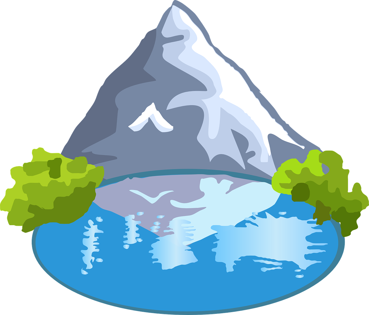 Lake clipart mountain alaska.  collection of images