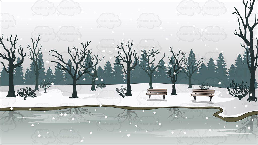 Pin on christmas . Lake clipart icy lake