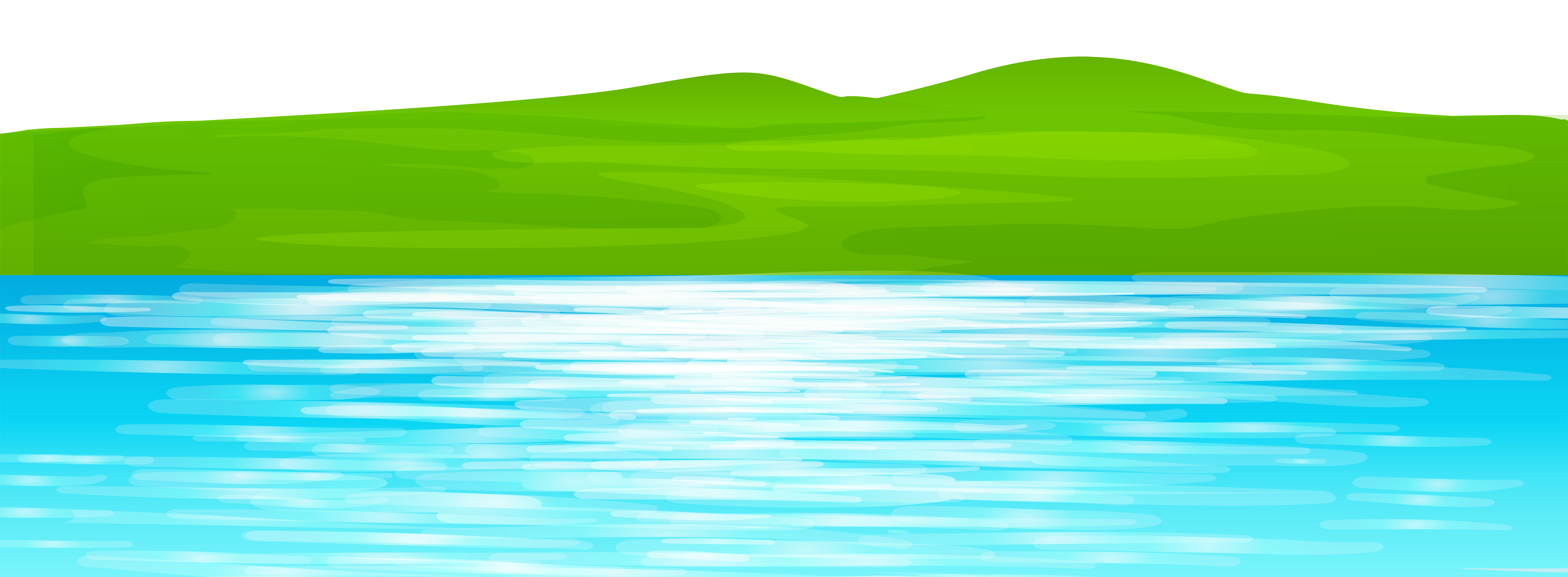Lake clipart ground. Water resources green swimming