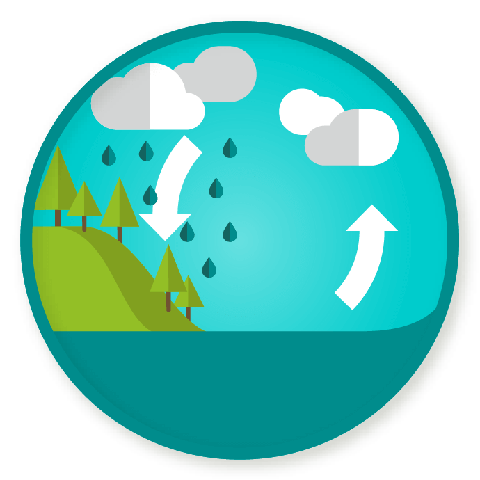 Evaporation clipart water cycle. Wittywe win a badge