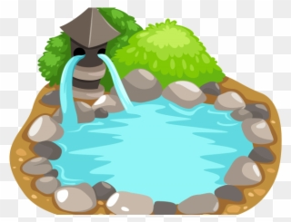 Free png clip art. Clipart lake koi pond