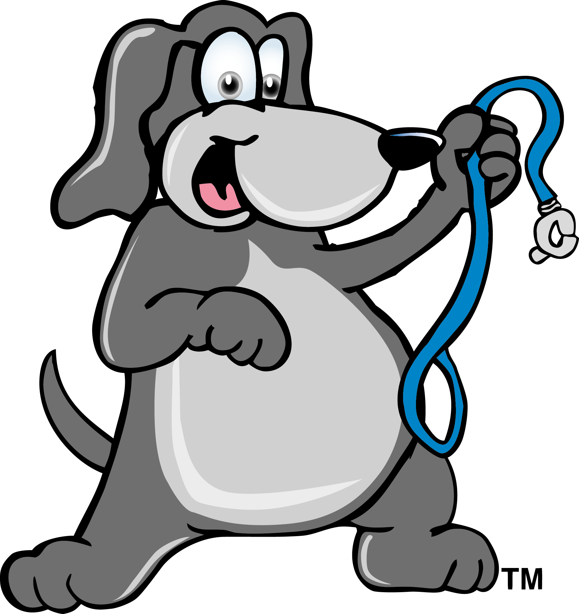 Fat dog with a. Pet clipart common animal