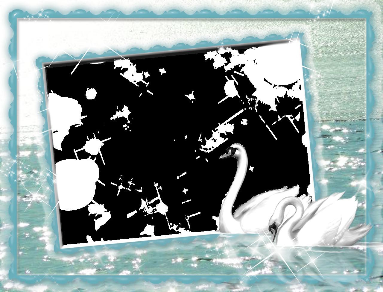 Lake clipart swan. White at png photo