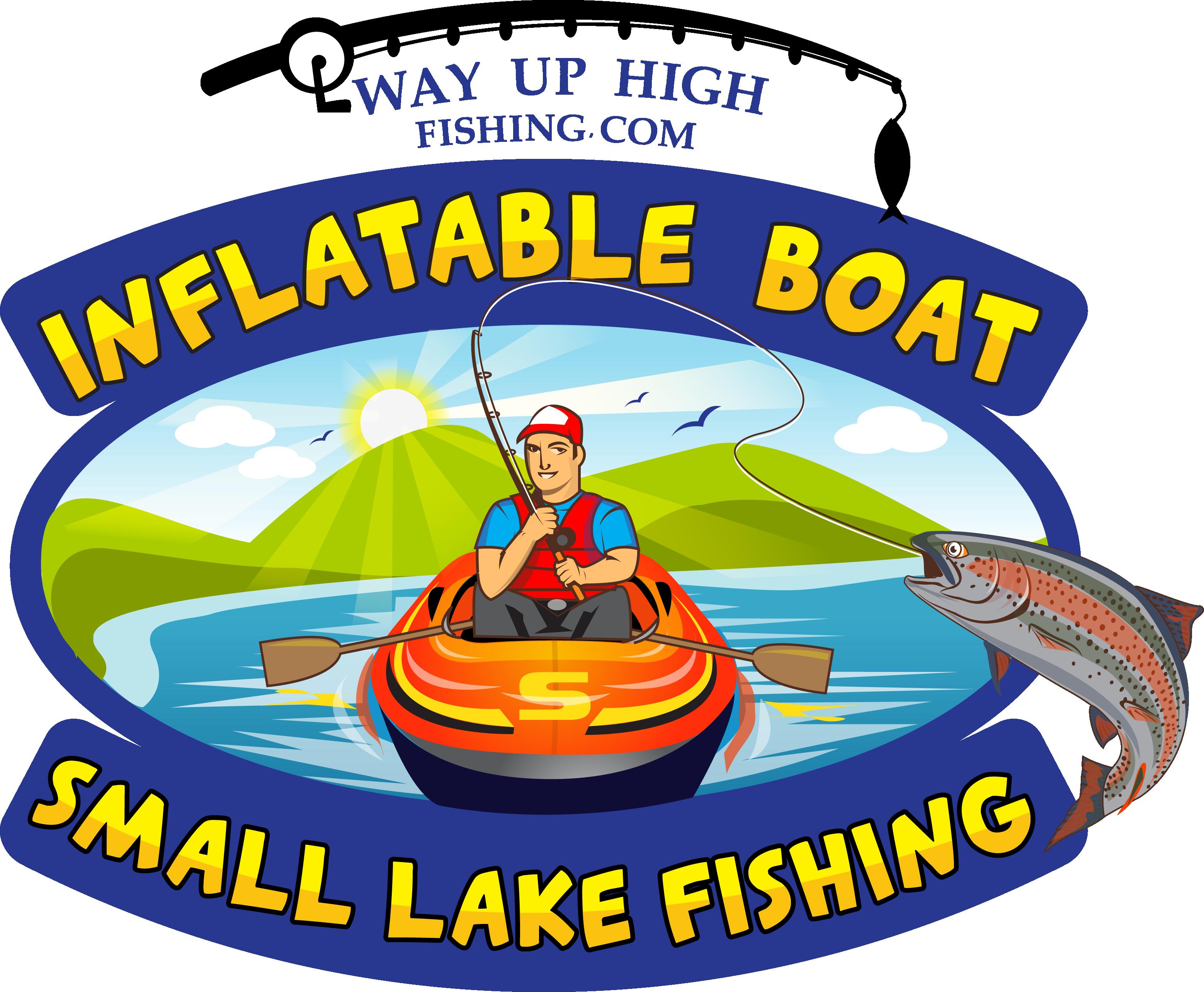 Lake clipart lake fun. Way up high fishing