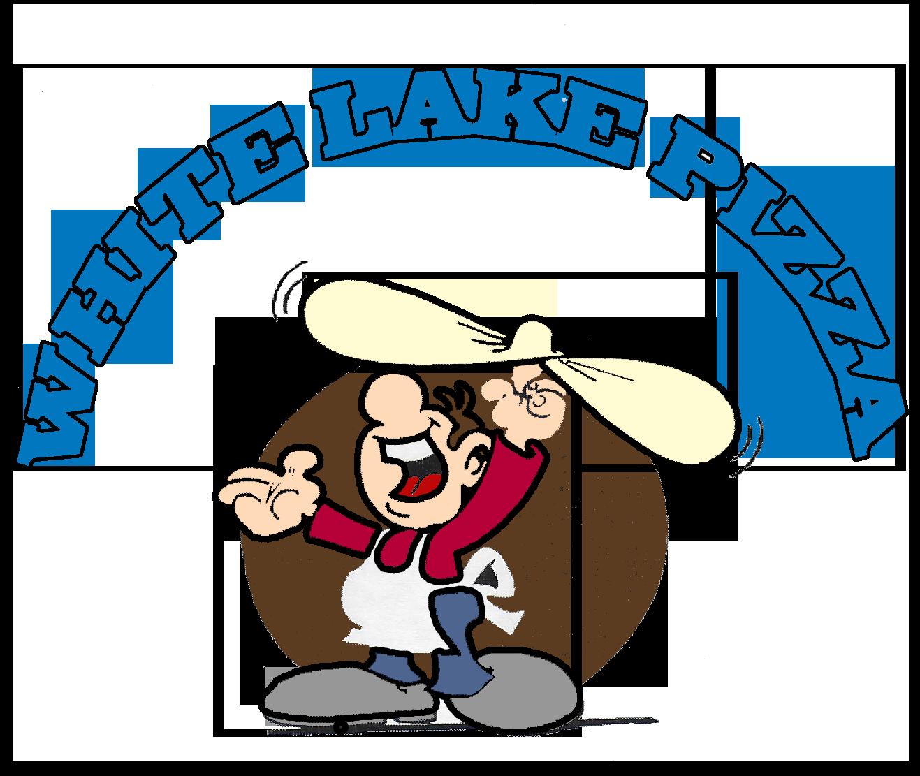 White pizza . Lake clipart lakeside