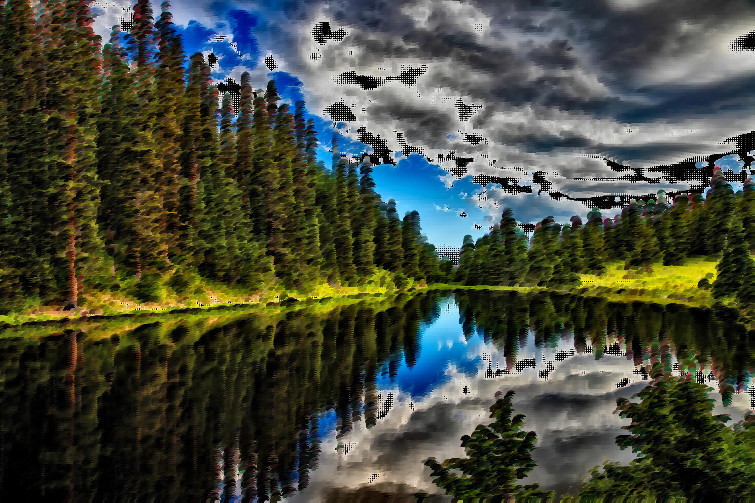Surreal irene colorado big. Water clipart lake
