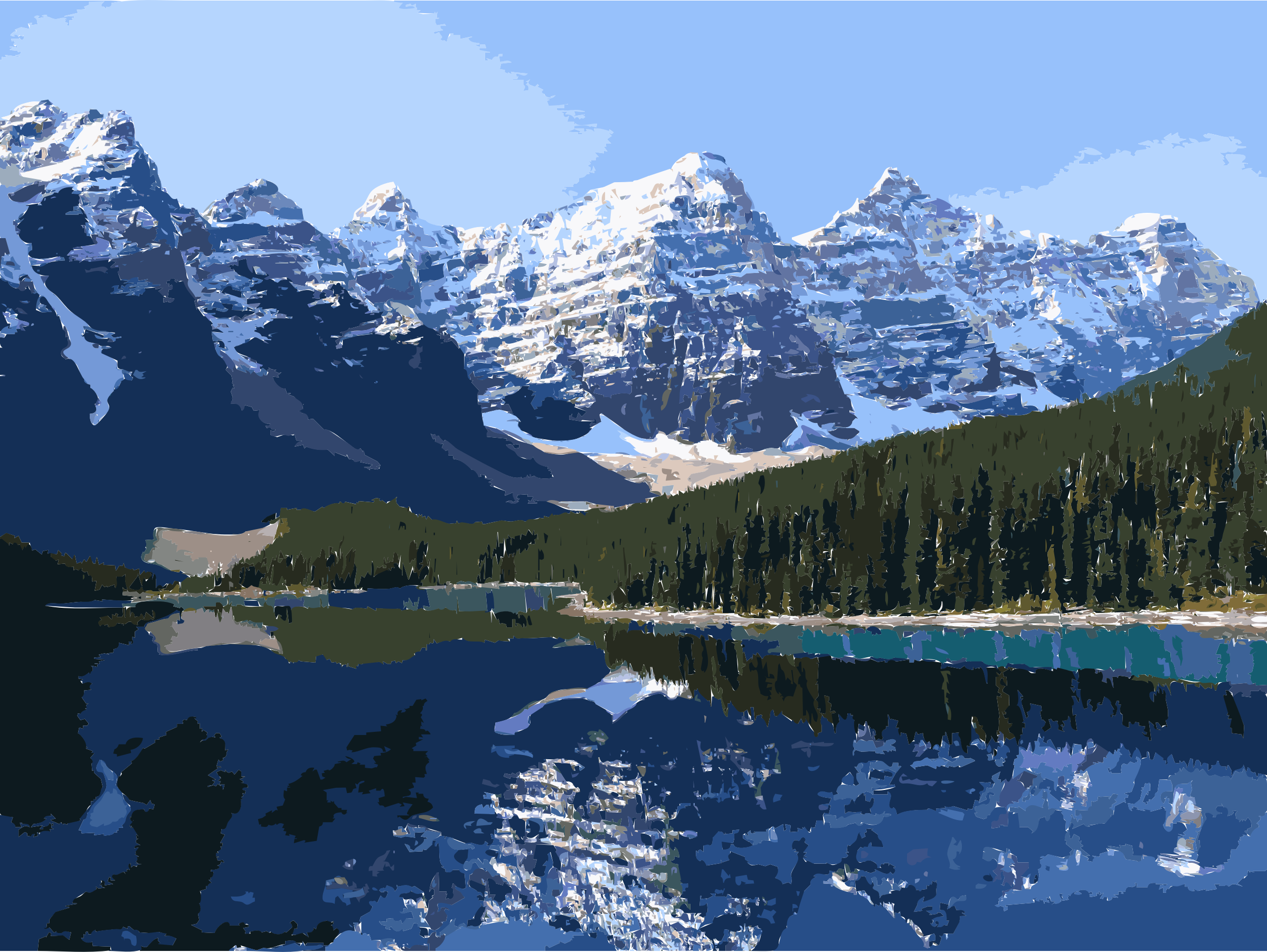 Lake clipart icon. Moraine big image png