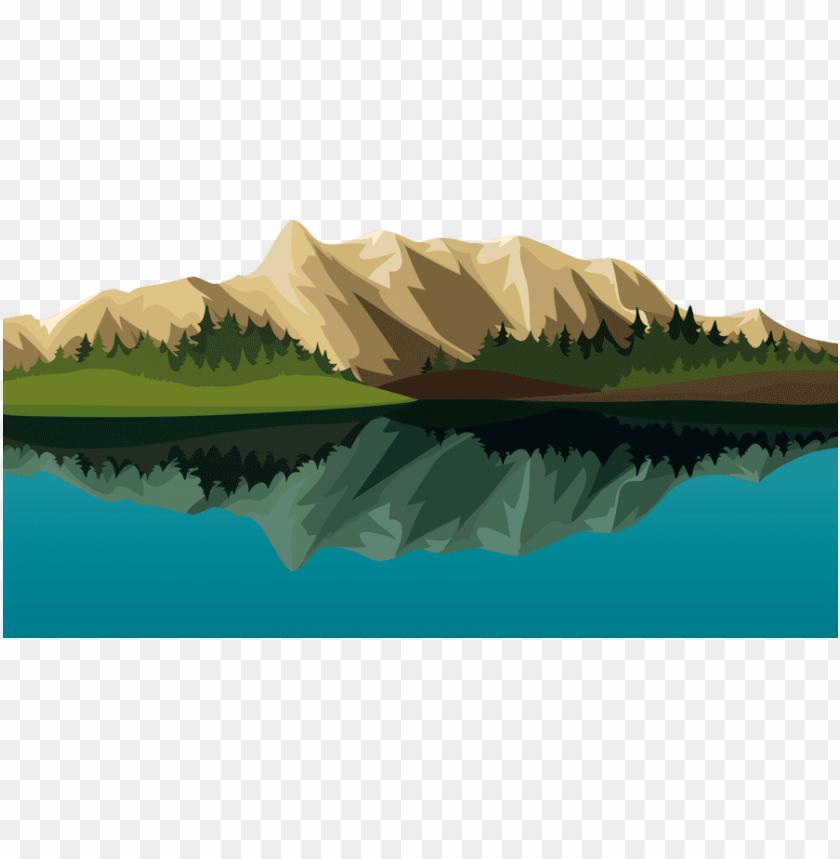 Clipart lake mountain wallpaper. Cartoon mountains hd