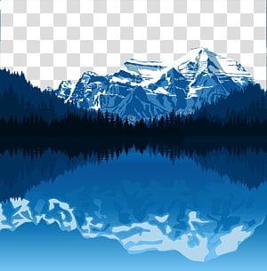 Clipart lake moutains. Garden creativity mountain dan