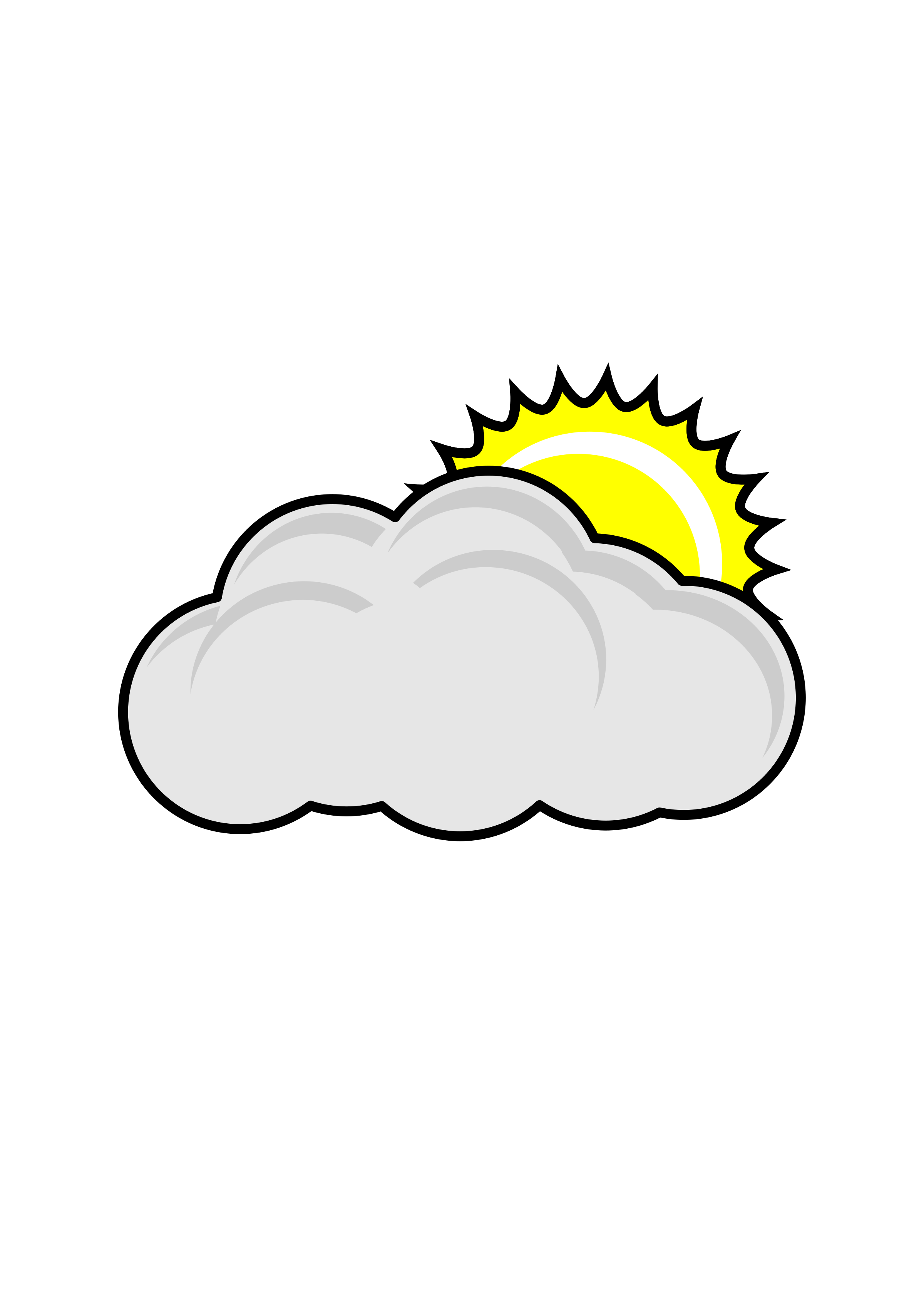 Sunny clipart partly. Cloudy icons png free