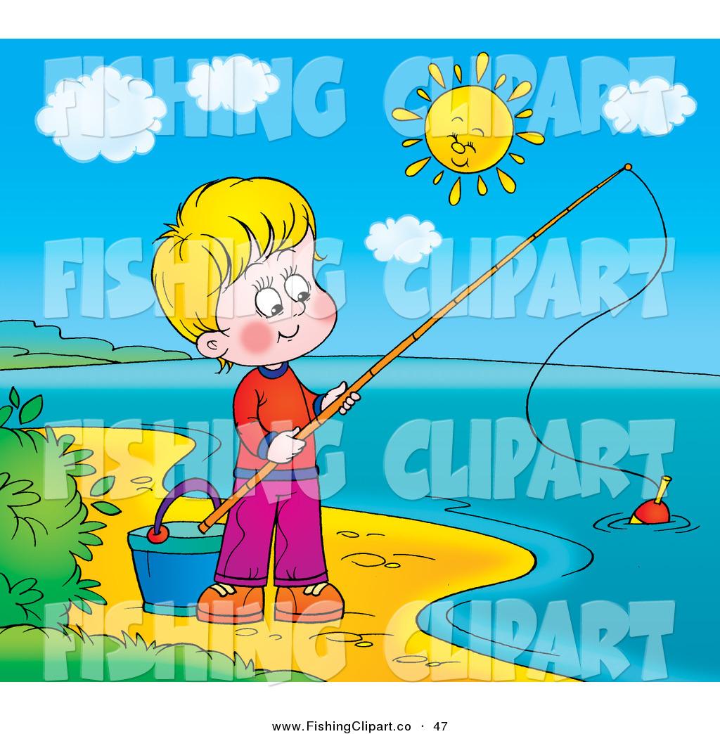 Clipart lake sunny. Clip art of a