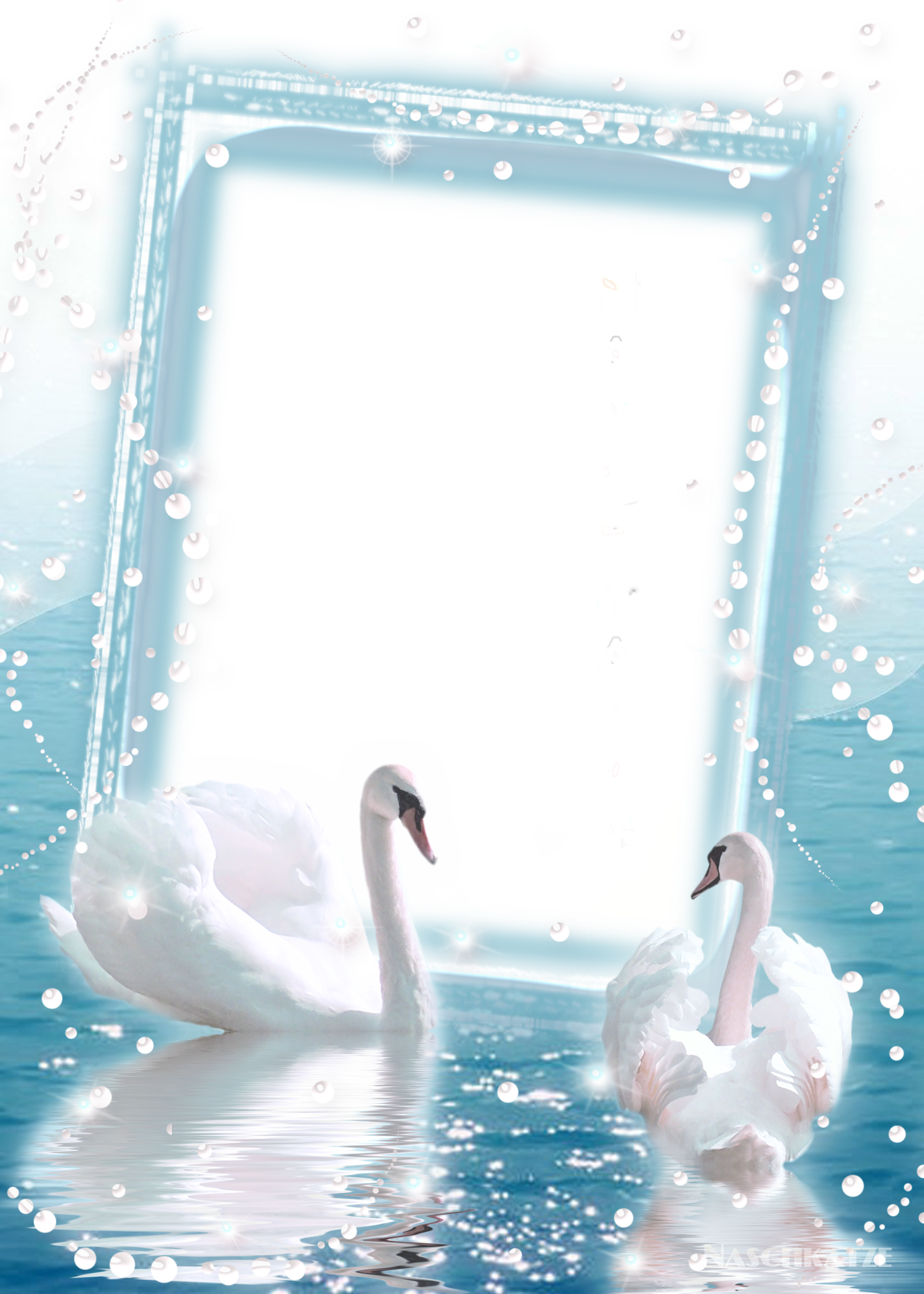 Transparent photo with two. Crayons clipart picture frame