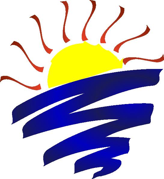 Sunset champlain clip art. Clipart lake transparent