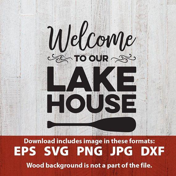 Lake clipart lake house. Pin on cricut stuff