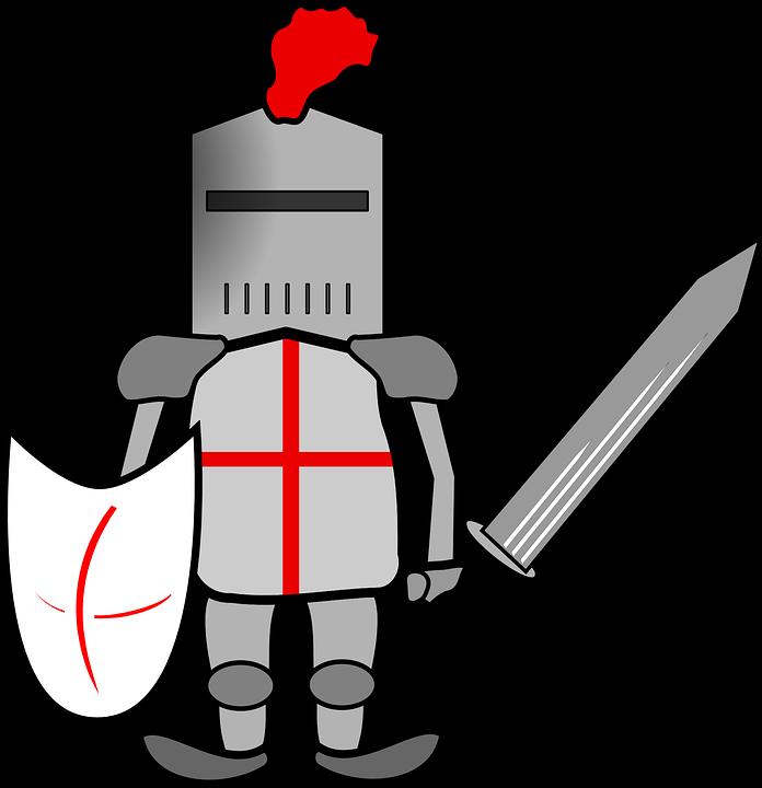 helmet clipart crusader
