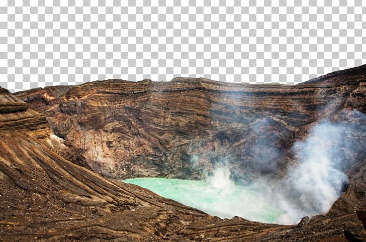 Mount aso volcanic stock. Lake clipart volcano crater