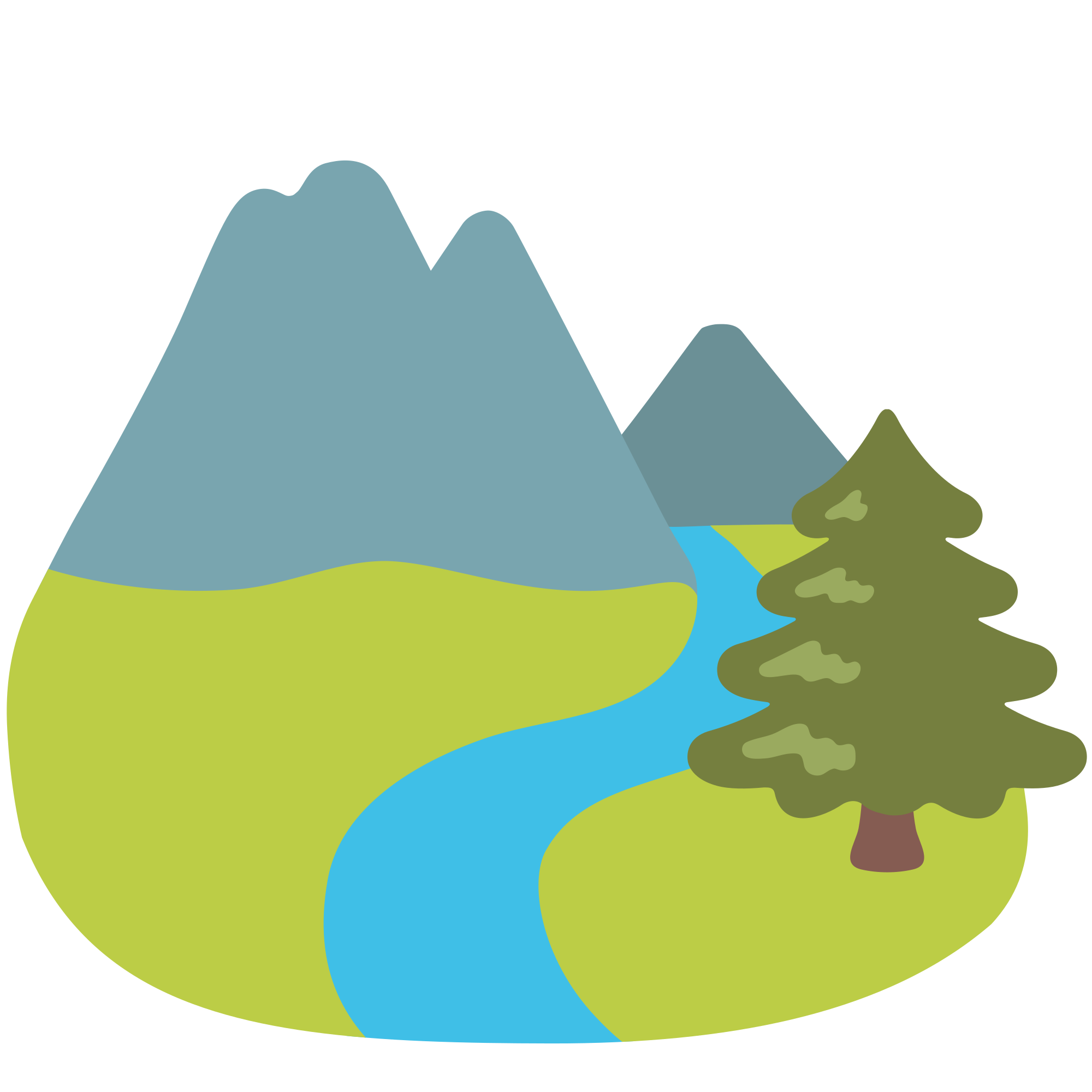 Lake clipart volcano crater. File emoji u f