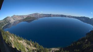 Photo image wide angle. Lake clipart crater