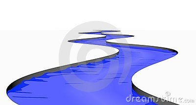 Collection of free download. Clipart lake winding stream