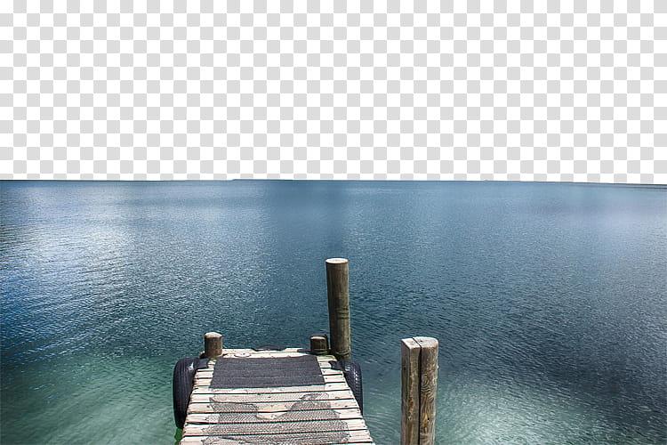 W brown above body. Lake clipart wooden dock