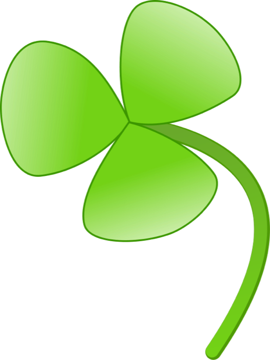 Clipart leaf animation. Of shamrocks and four