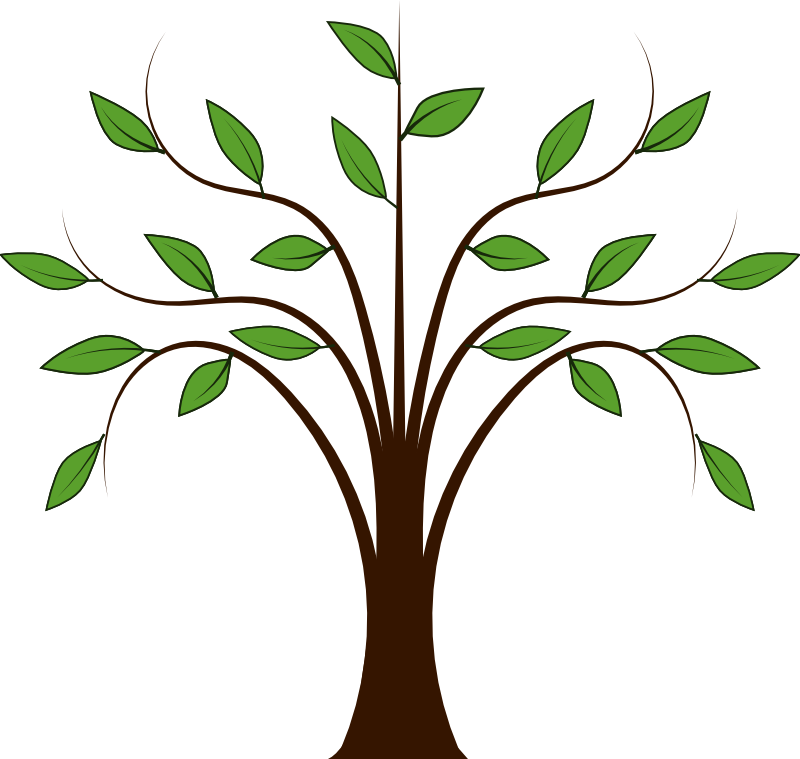 Spring trees panda free. Leaf clipart animation