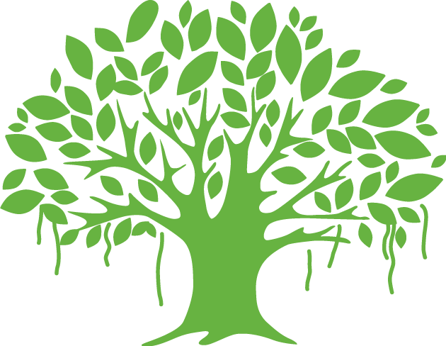Leaf banyan