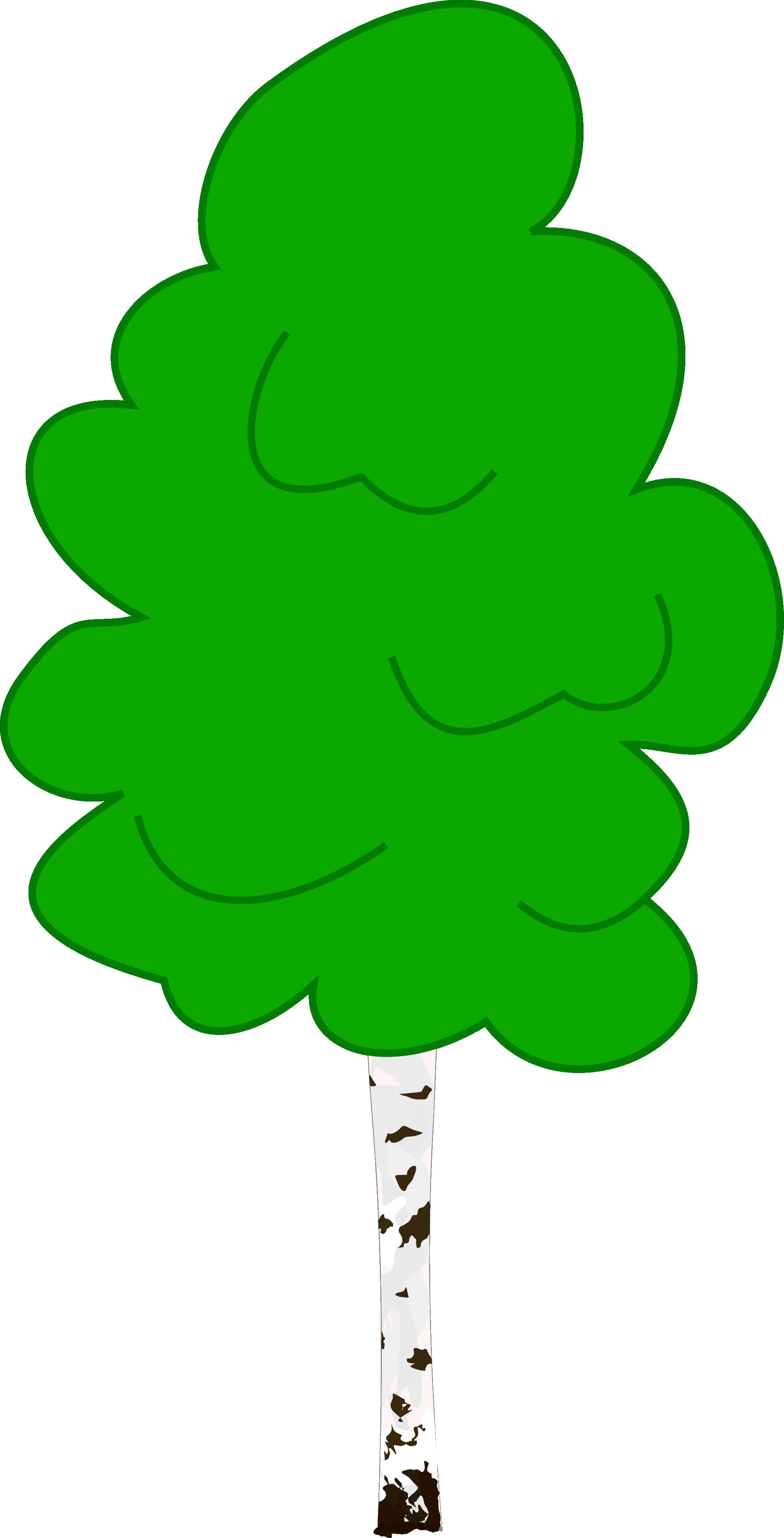 leaf clipart birch tree