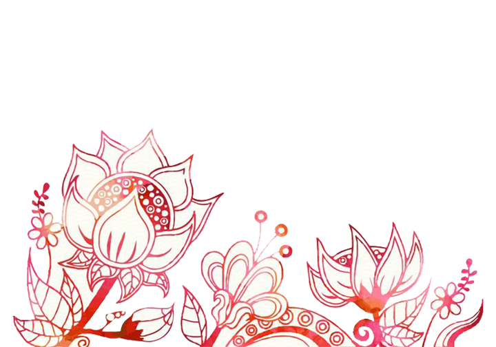 Bohemianism chic clip art. Leaf clipart boho