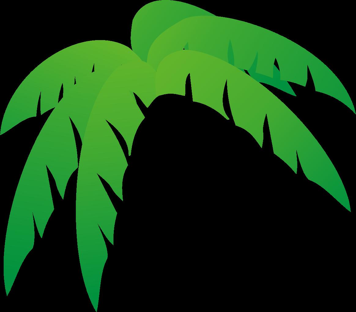 Palm clipart pom tree. Leaves clipartsgram com cricut