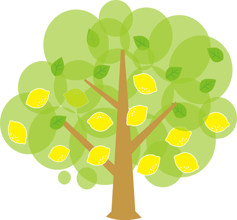 Free . Tree clipart cute