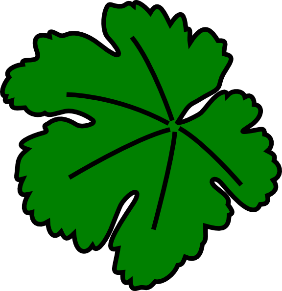 leaf clipart face