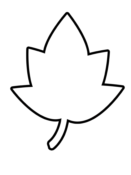 Free cliparts outline download. Clipart leaf easy