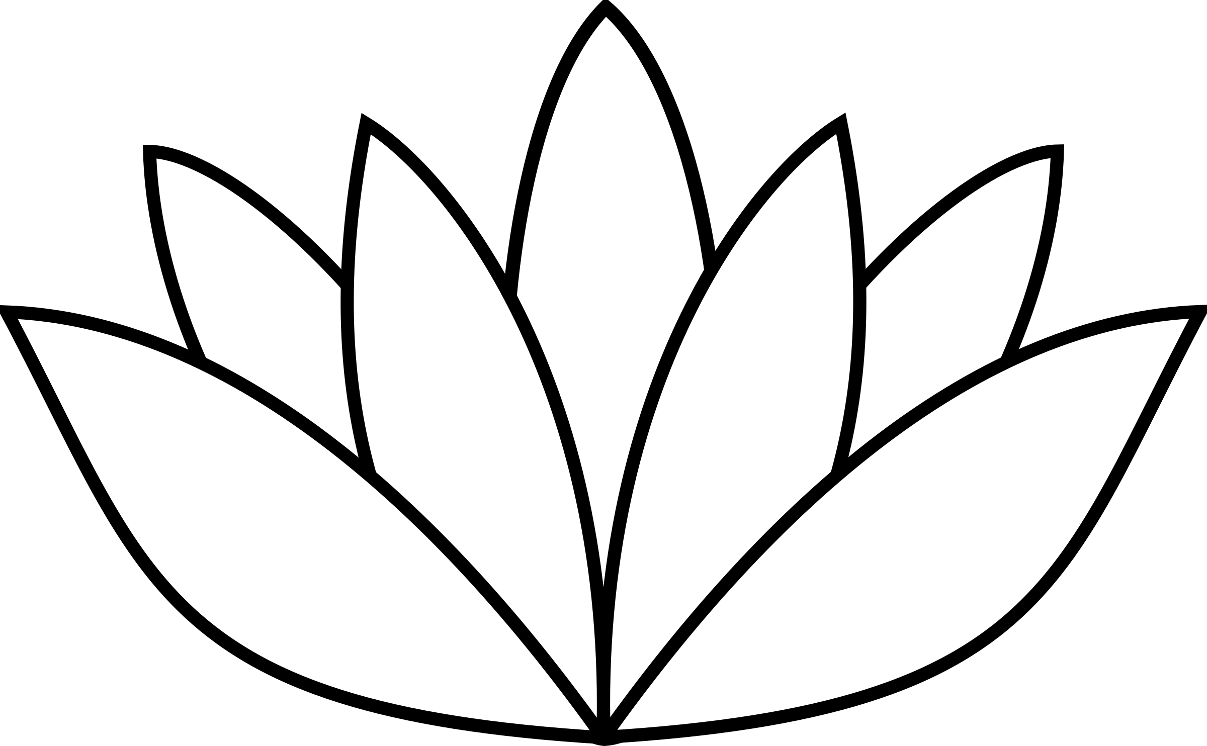 Clipart leaf easy. White lotus flower big