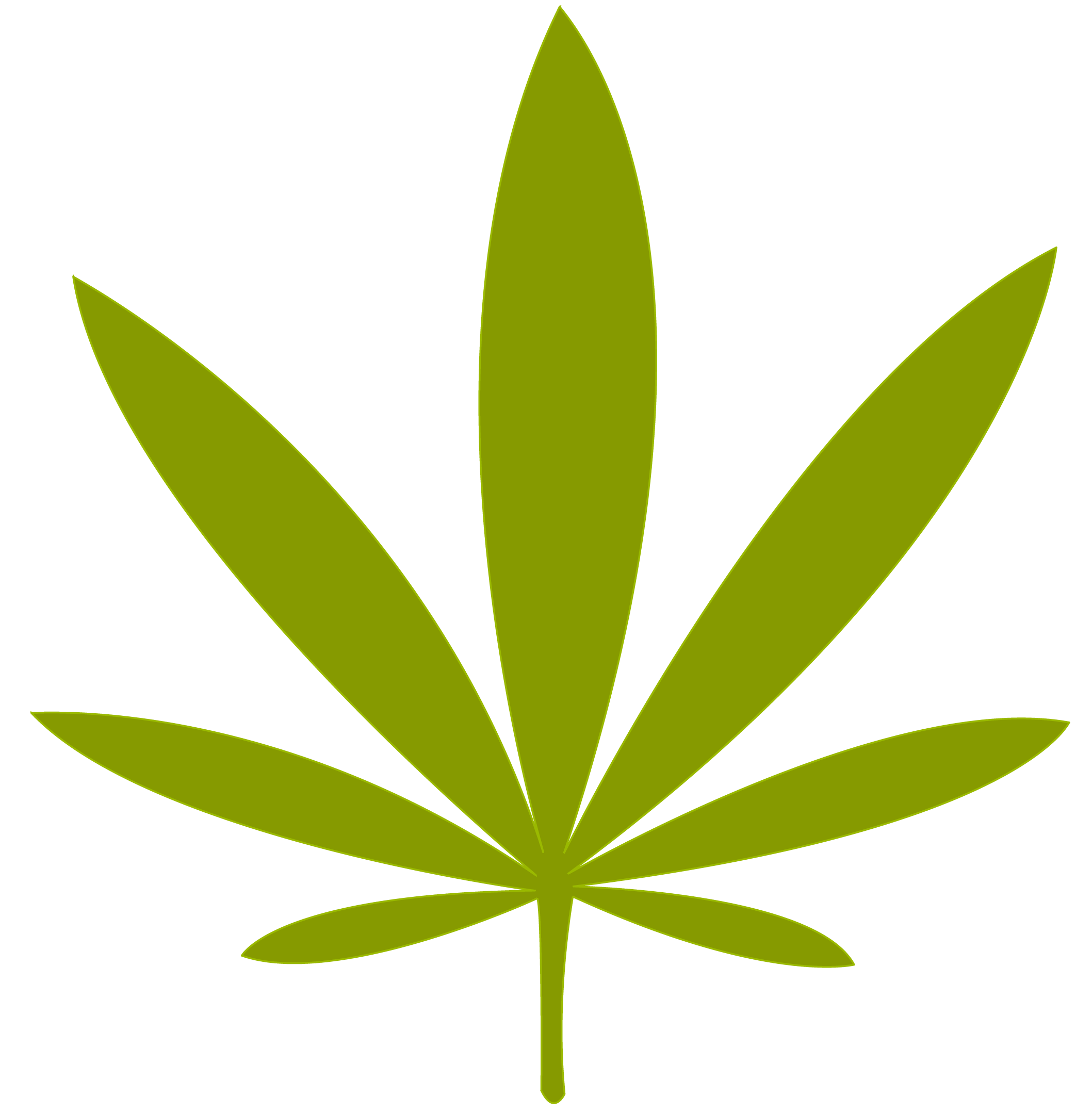 Weed leaf png file. Marijuana clipart black and white