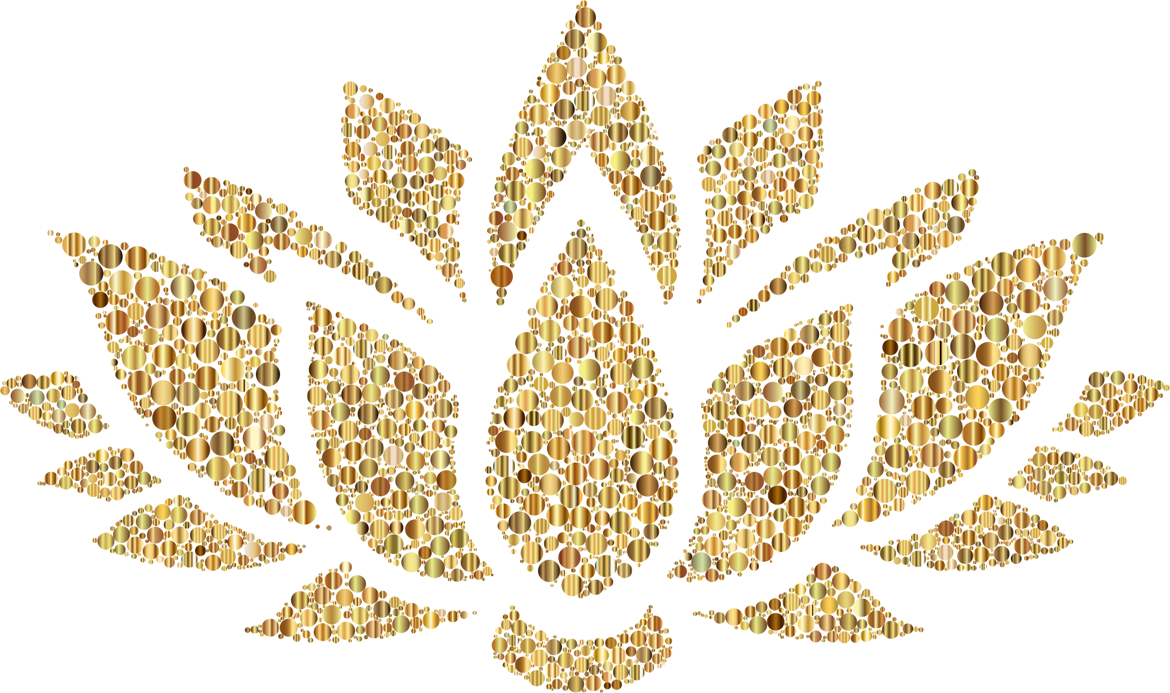 Leaf clipart filigree. Prismatic lotus flower silhouette