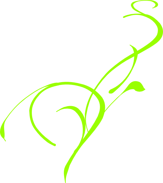 Clipart leaf floral. Scroll ff green missing