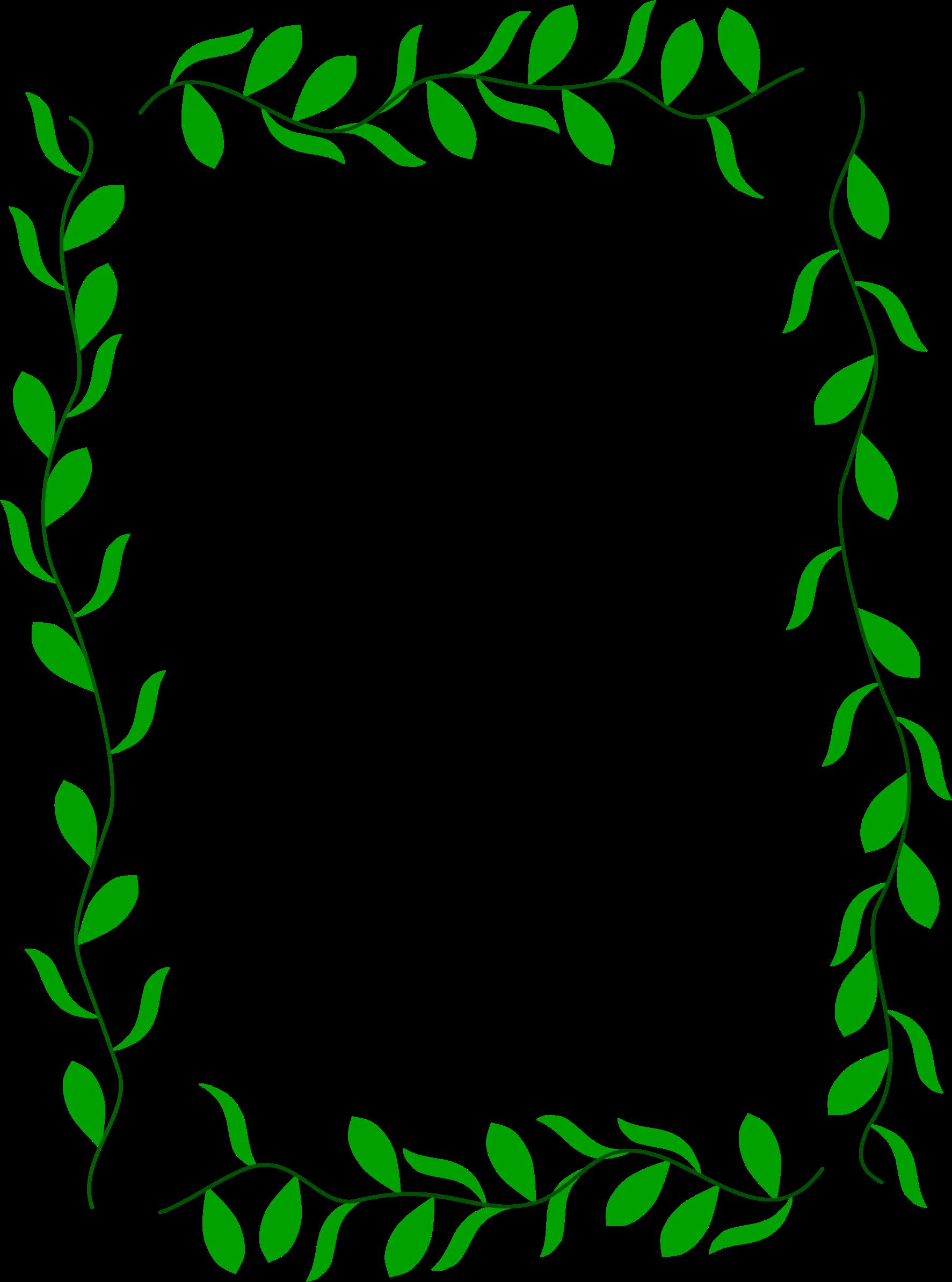 Clipart leaf floral. Border big image png