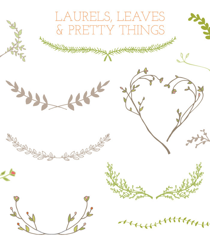Garland clipart leafy. Free leaves cliparts download