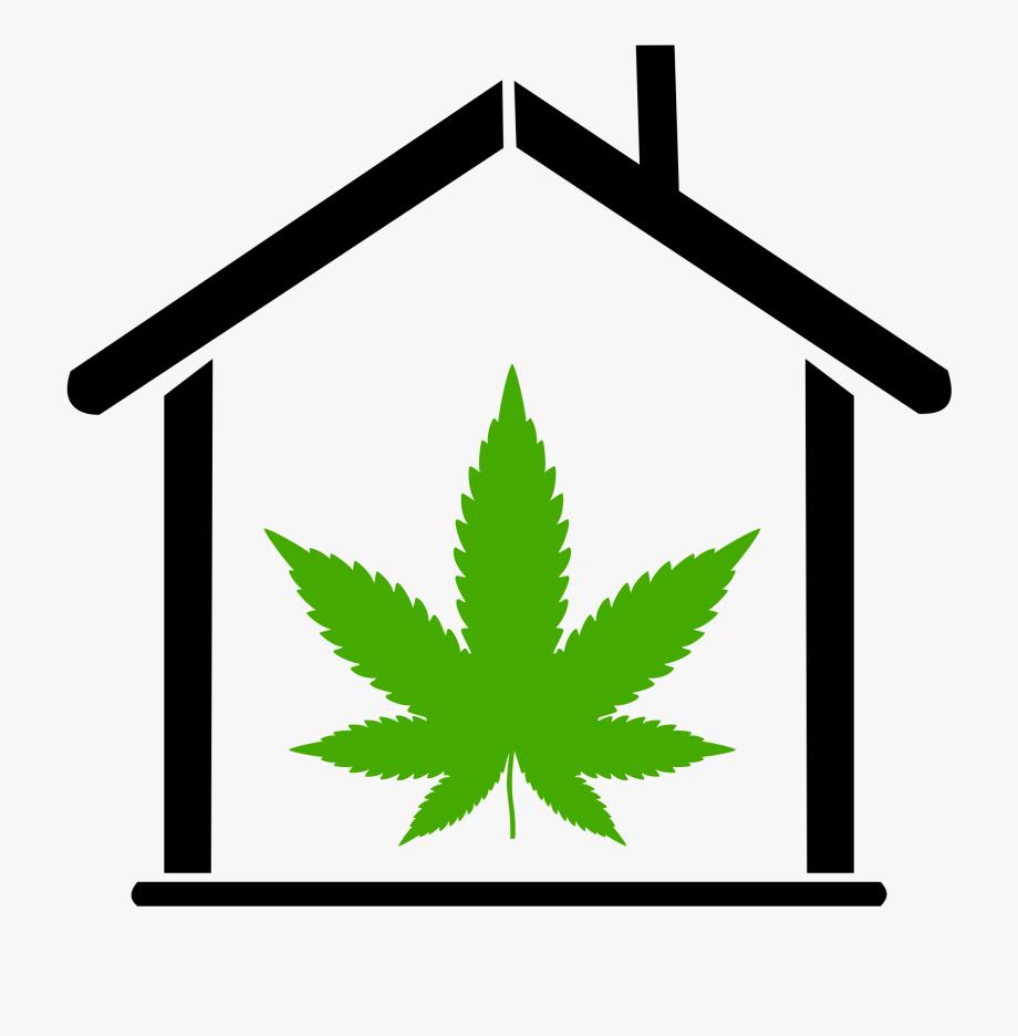 Clipart leaf house. Canada cannabis free cliparts
