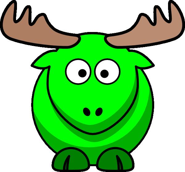 moose clipart kid